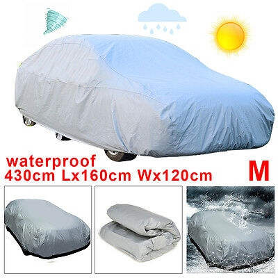 Universal Car Cover UV Protection Breathable Waterproof Medium Size M