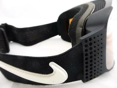 Nike Fade Frameless Goggles Black/Black Silver Ion + Yellow Red Ion Lens