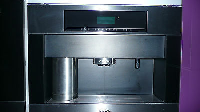 Miele CVA 5065 Built In Integrated Coffee Machine  - Stainless Steel