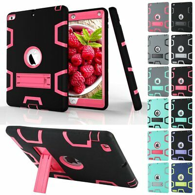 "Kids Shockproof Heavy Duty Case Cover for iPad 4 3 2 iPad 2018 9.7"" Mini 2 3 Lot"