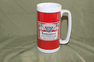 Vintage Budweiser Plastic Mug Made In The Usa