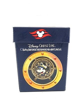 NEW Disney Parks Cruise Line Officer Pin Trading Night DCL 2016 Captain Mickey