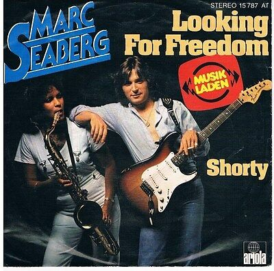 "Marc Seaberg-Looking for freedom/Shorty/"" Single von 1978"