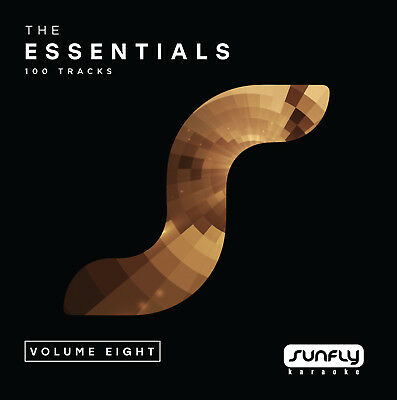 Sunfly Karaoke Essentials Vol.8 - 6 Disc Pack (CD+G) Direct From Sunfly