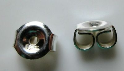 Sterling Silver 925 Strong Nuts One Pair