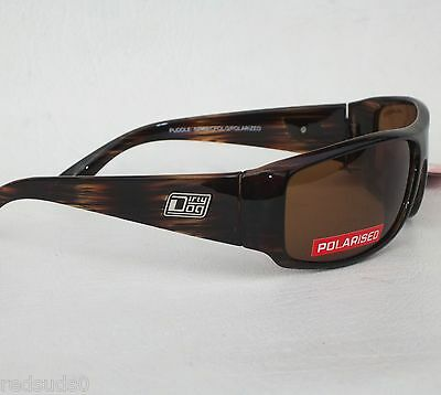 Dirty Dog Puddle Mens Brown Polarised Surf Sailing Ski Sports Cycling Sunglasses