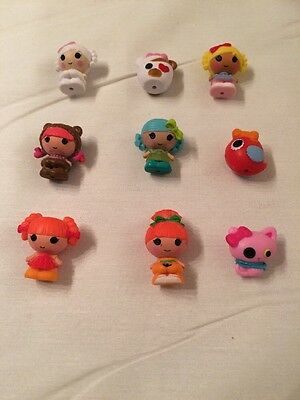 Lot of 9 pcs Mini Lalaloopsy Doll Pick by Random Collection Kids Girls Gift Toys