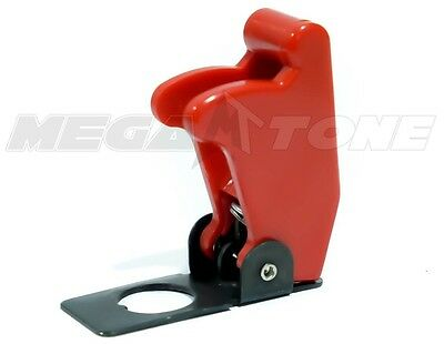 (1 PC) Red Toggle Switch Safety Cover Guard Plastic/Metal.. USA SELLER!!!