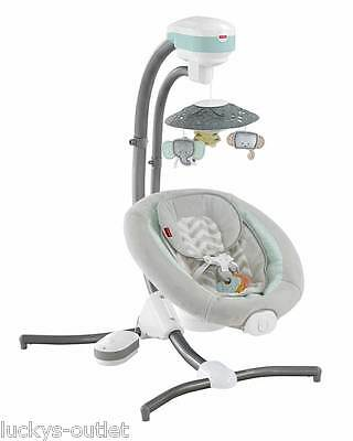 Fisher Price Sweet Surroundings Baby Cradle 'n Swing Gently Used FDH41 CMR40