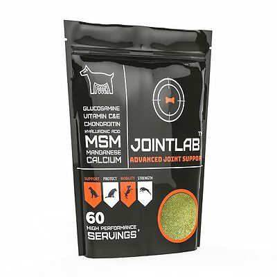 JointLab Joint Aid For Dogs (300g) | Advanced Supplement With MSM, Chondroitin