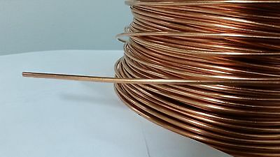 50' Feet Soft Annealed Ground Wire Solid Bare Copper 10 Awg Hobby Jewelry