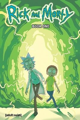 RICK AND MORTY BOOK 1 HARDCOVER New Hardback Collects Issues #1-10 (296 Pages)