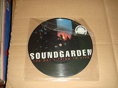 Soundgarden - The day i tried to live - A&M Records Ltd UK 1994 Pic Disc -Ex Con