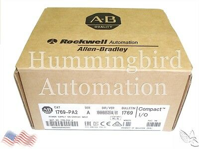 2016 NEW *SEALED* Allen Bradley 1769-PA2 /A CompactLogix Power Supply *QTY*