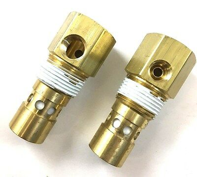 "INGERSOLL RAND TANK CHECK VALVE 5/8"" INVERTED FLARE IN x 3/4"" MPT OUT BRASS"