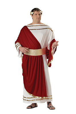 Brand New Caesar Greek Toga Plus Size Adult Halloween Costume