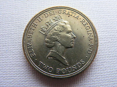 Queen Elizabeth II Two Pound £2 Coin 1986 EF+ to A/UNC
