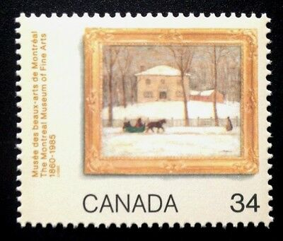 Canada #1076 MNH, Montreal Museum of Fine Arts Stamp 1985