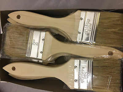 """Lot of 108 2"""" Chip Brushes Brush Paint Touchups-$39.99"""