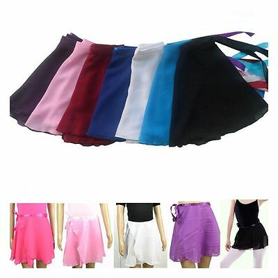 Sell Girl Ballet Wrap Children Dance Chiffon Dress Tutu Skirt