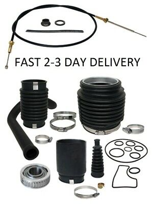 Mercruiser Bravo Transom Service Kit Gimbal Shift Cable 30-803100T1 bellows