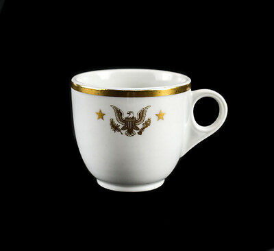 Presidential Shenango China From Yacht USS Honey Fitz President Seal JFK Tea Cup
