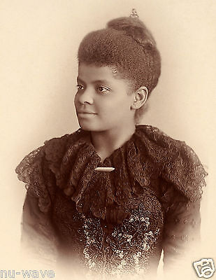 1893-Ida Bell Wells-African American Early Civil Rights Leader-Co Founder NAACP