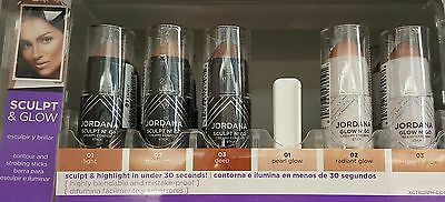 "Jordana Sculpt And Glow N' Go Creamy Contour & Strobe Stick ""Choose"""