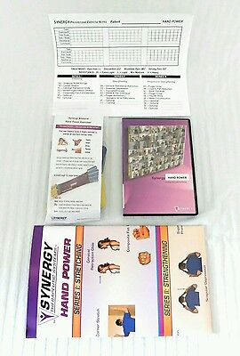 Synergy Hand Power Restraint Workout Band Therapeutic Systems *NEW IN BOX*