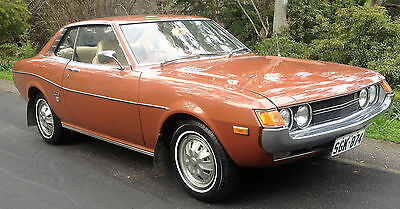 TOYOTA CELICA 1974 LT1600  PILLARLESS COUPE' 82000 original kms with all books
