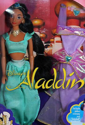 Disney Aladdin Jasmine Barbie 1992, Mint NO BOX - 02557