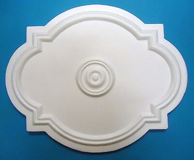 Ceiling Rose - Polystyrene - 'Renaissance' - Size 530mm x 435mm Approx*FREE P&P*