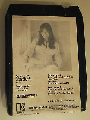 '8 track' Music Cartridge / tape: Carly Simon - Hotcakes