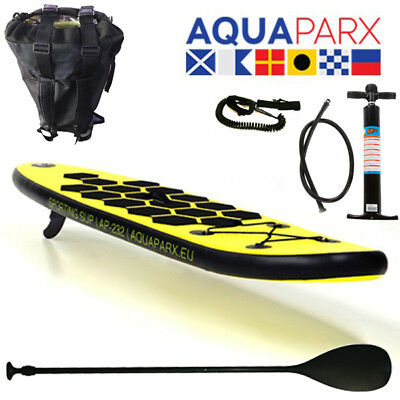 Aquaparx Sup Stand Up Paddle Board Kinder Kid Inflatable Isup Paddel Aqua Surf