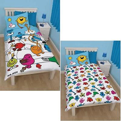 Mister Men - Mr Men and Little Miss Village Single Duvet Set With Pillow Case