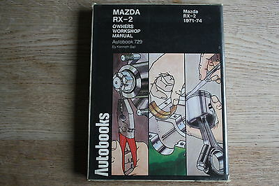 Autobooks Workshop Manual For Mazda RX2 RX-2 1971-74 1974 Edition