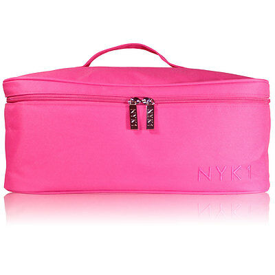 *Slight Mark on Fabric* NYK1 PINK Gel Nail Case Bag for Nail Technician