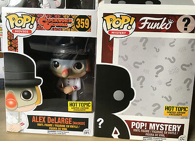 FUNKO POP Vinyl Figure MOVIES - 359 Alex DeLarge (Masked) Hot Topic Exclusive
