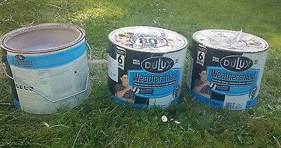 Dulux Weathershield Exterior Paint 16 litres. Tinted to Taubman's Iced Coffee