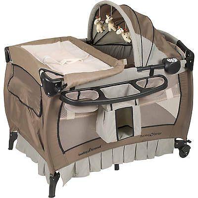 Deluxe Nursery Center Playard Hathaway Portable Playpen Infant Safety Baby Trend