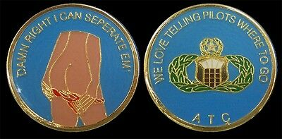 Us Air Force Air Traffic Controller Atc Challenge Coin Military Coins New