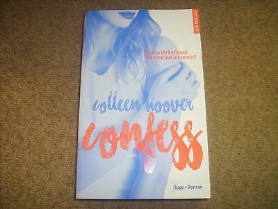 Roman CONFESS -COLLEEN HOOVER- Editions HUGO ROMAN Grand Format