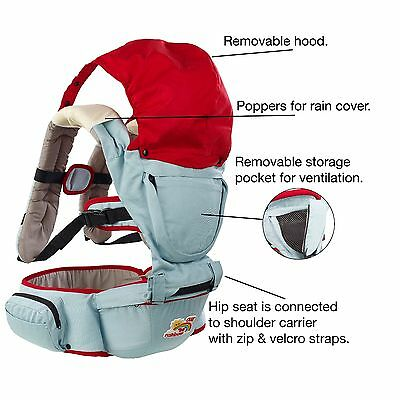 FANTASTIC Baby Carrier with removable Hip Seat SPECIAL SUMMER OFFER, .