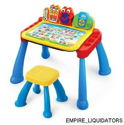 VTech Touch & Learn Deluxe Activity Desk, Multi-Color MODEL A9B75598