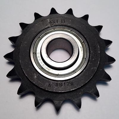 """SST II 40BB17H 5/8"""" Bore #40 Roller Chain Idler Sprocket (NEW) (BC3)"""