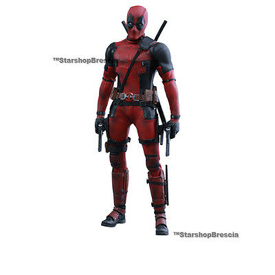 "MARVEL - Deadpool Movie Masterpiece 1/6 Action Figure 12"" Hot Toys MMS347"