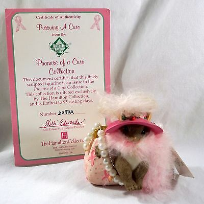 Charming Tails  Figurine Pursuing A Cure