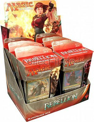 Magic the Gathering - Äther-Rebellion - Ajani+Tezzeret-1 Display(6 Intropacks)