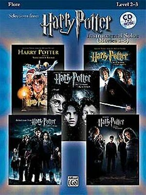 Harry Potter - Instrumental Solos (Movies 1-5) - Flute. Sheet Music, CD