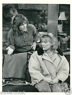 "Kate & Allie-Cbs 7"" X 9"" B & W Photo-Jane Curtain-Susan Saint James-#761-1988"